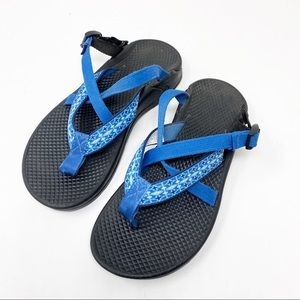 CHACO | Blue Strappy Sandal
